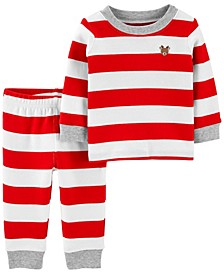 Baby Boy or Girl 2-Piece 100% Snug Fit Cotton PJs