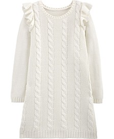 Big Girl Cable Knit Dress