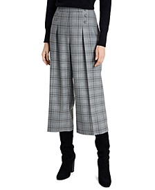 Sydney Plaid Culottes, Created For Macy's