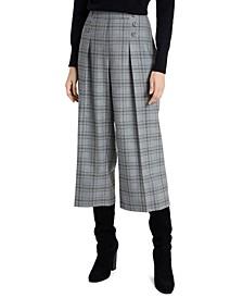 Sydney Plaid Culottes, Created For Macy's