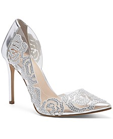 INC Women's Kenjay d'Orsay Pumps, Created for Macy's