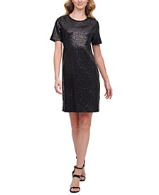 Sequined T-Shirt Dress