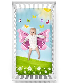 Butterfly Crib Sheet