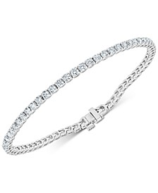 Diamond Tennis Bracelet (3-7/8 ct. t.w.) in 14k White Gold