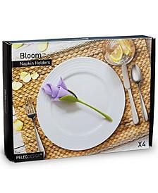 Bloom Napkin Holders, Set of 4