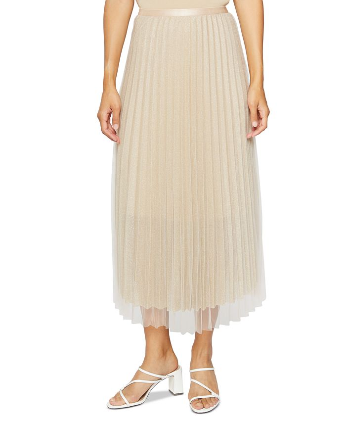 Lucy Paris - Pleated Maxi Skirt