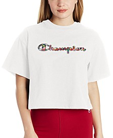Women's Cropped Logo T-Shirt