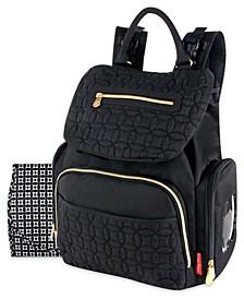 Signature Flap Backpack