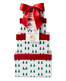 Winter Woods Gift Tower