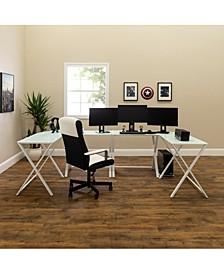 X Frame Command Center Gaming Desk Station
