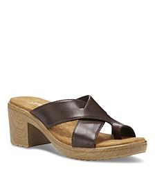 Liza Heeled Women's Thong Sandal