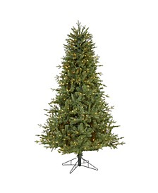New Hampshire Spruce Artificial Christmas Tree with 500 Warm Lights and 1074 Bendable Branches