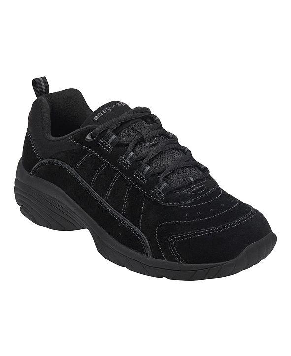 Easy Spirit Women's Punter Almond Toe Sneaker