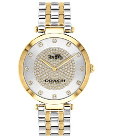 Women's Park Two-Tone Stainless Steel Bracelet Watch 34mm