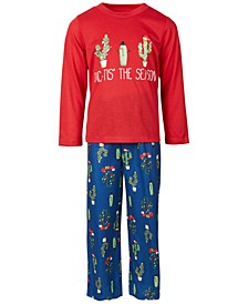 Matching Kids Cactus The Season Family Pajama Set, Created for Macy's