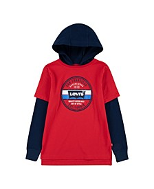 2Fer Big Boys Hooded T-shirt