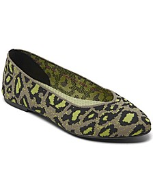 Women's Cleo - Leopard Casual Ballet Flats from Finish Line