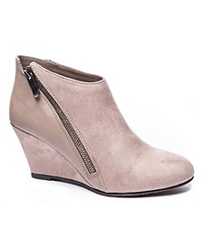 Women's Viola Wedge Ankle Booties