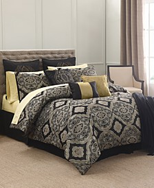 Cheshire 14-Pc. Queen Comforter Set