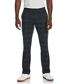 Men's Windowpane Plaid Pants