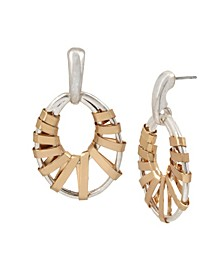 Wrapped Gypsy Hoop Earrings