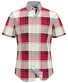 Men's Rupert Custom-Fit Plaid Shirt