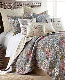Angelica Quilt Set, Full/Queen