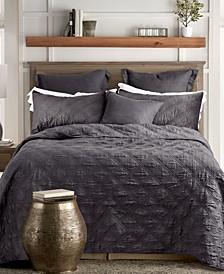 Washed Linen Quilt, Full/Queen