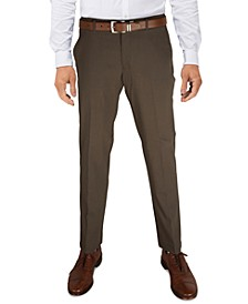 Men's Modern-Fit TH Flex Stretch Comfort Solid Performance Pants