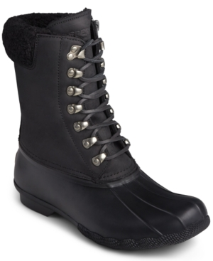 Sperry Lace-ups SALTWATER LACE-UP BOOTS WOMEN'S SHOES
