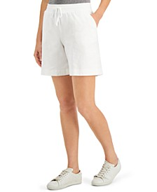 Petite Knit Shorts, Created for Macy's