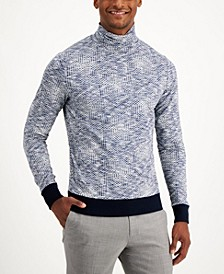 Men's Limited Edition Knit Long Sleeve Turtleneck Sweater