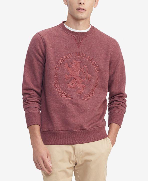 Tommy Hilfiger Men's Legendary Crest Embroidered Sweatshirt