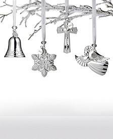 2020 Silver Ornament Collection
