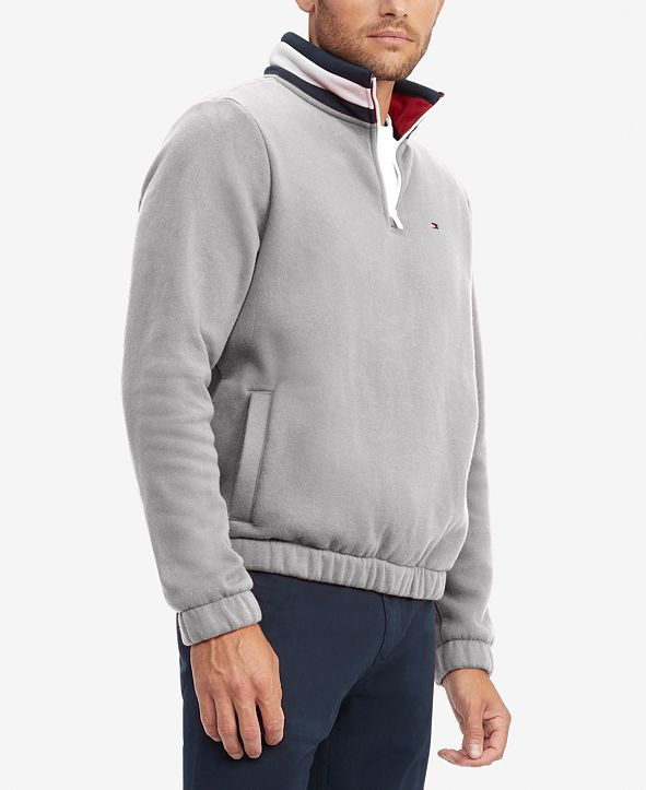 Tommy Hilfiger Men's Flags Classic-Fit 1/4-Zip Sweatshirt