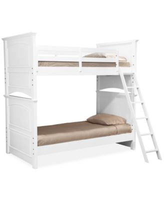 Roseville Twin Over Twin Kids Bunk Bed. Furniture