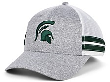 Michigan State Spartans Space Dye Trucker Cap