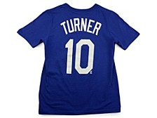Los Angeles Dodgers Youth Name and Number Player T-Shirt Justin Turner