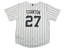 Youth New York Yankees Giancarlo Stanton Official Player Jersey