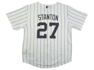 Nike Youth New York Yankees Giancarlo Stanton Official Player Jersey