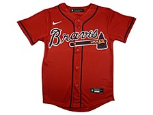 Youth Atlanta Braves Official Blank Jersey