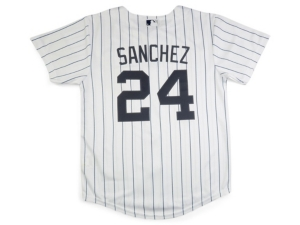 Nike New York Yankees Mlb Youth Official Player Jersey Aaron Sanchez