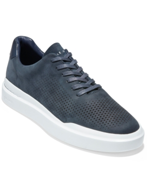 Cole Haan MEN'S GRANDPRØ RALLY LASER CUT PERFORATED SNEAKERS MEN'S SHOES