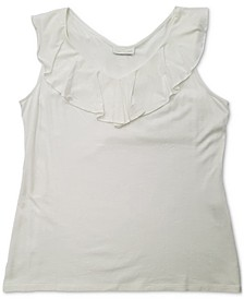 Ruffle-Trim Tank Top, Created for Macy's