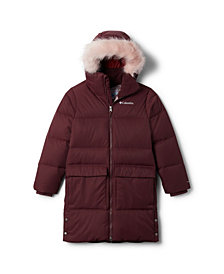 Columbia Big Girls Rockfall Mid Down Jacket