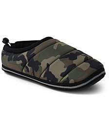 Men's Camo-Print Slippers