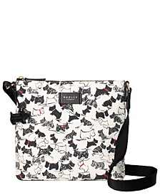 Scratchy Dog Small Zip Top Crossbody