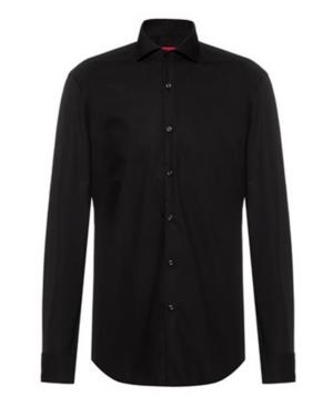 Hugo Men's Slim-Fit Solid Dress Shirt