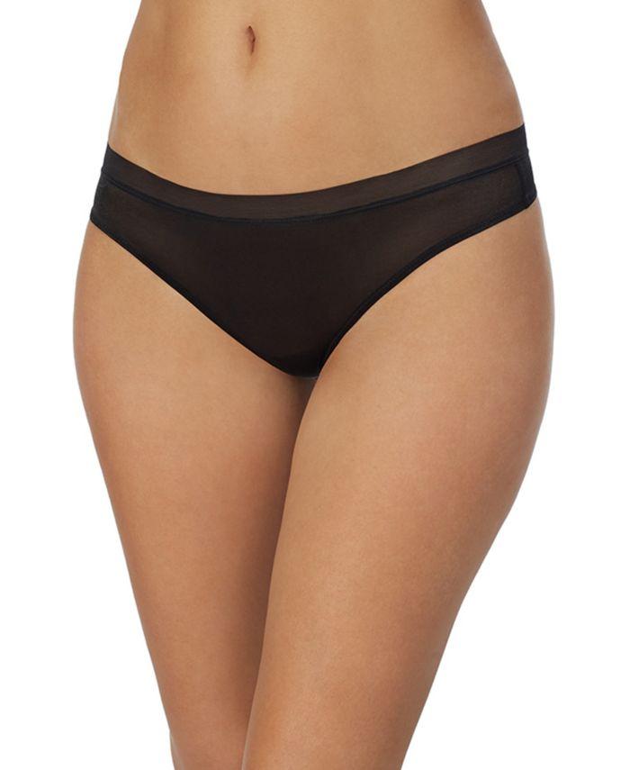 DKNY Women's Glisten & Gloss Thong Underwear DK5032 & Reviews - Bras, Panties & Lingerie - Women - Macy's