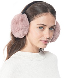 INC Faux-Fur Earmuffs, Created for Macy's